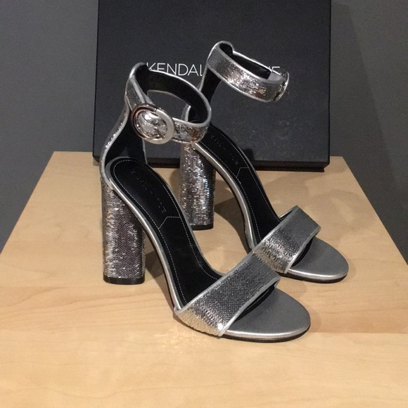 273640a797d Kendall + Kylie Giselle ankle strap sandal heel